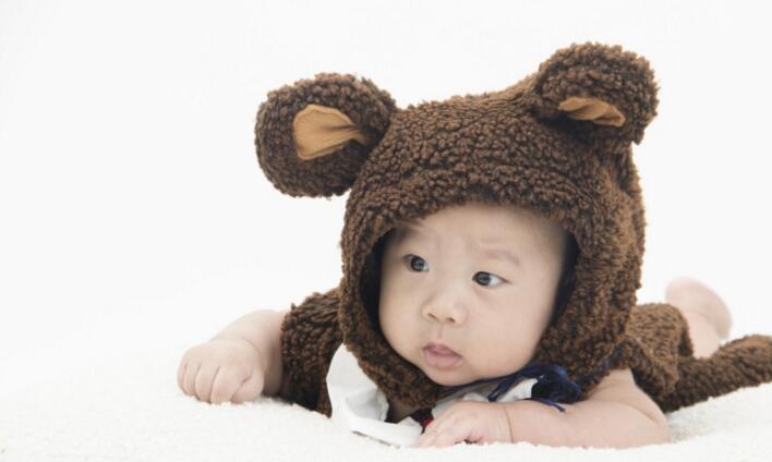 大西瓜儿童摄影小熊帽子