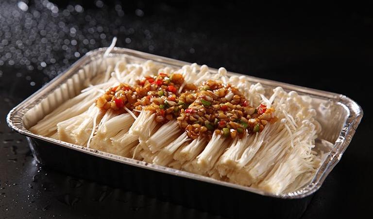 芦掌柜肉夹馍金针菇