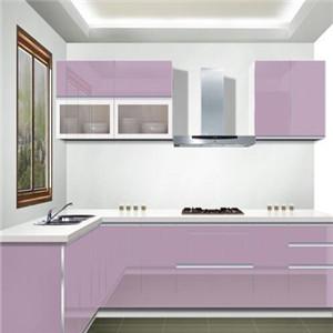 真森橱柜玫紫色