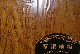 帝派客厅地板