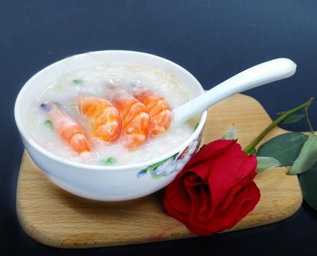 良记鲜虾粥