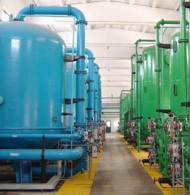 广东联盛水环境工程有限公司出水系统