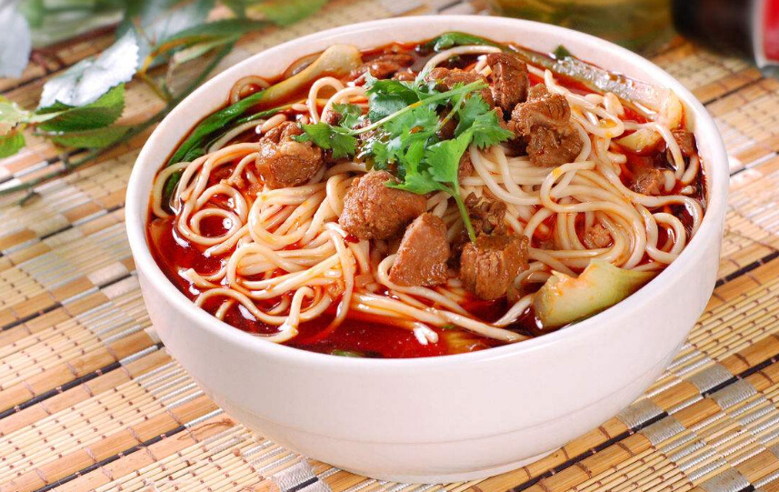 清真中华川式红烧牛肉面