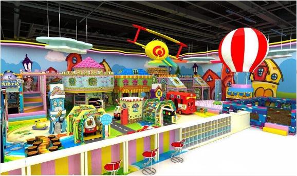 淘氣堡兒童樂園加盟