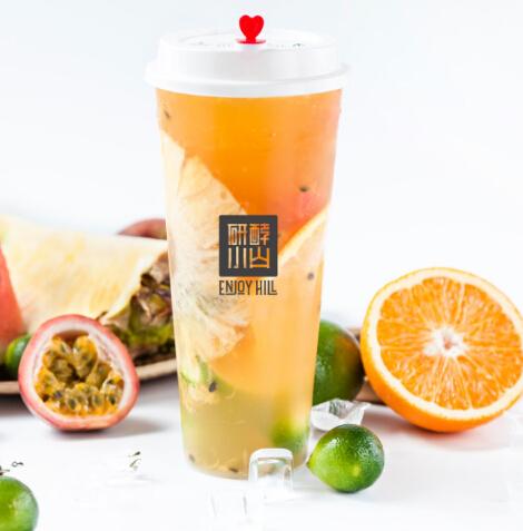 研酵小山茶饮烘焙水果茶