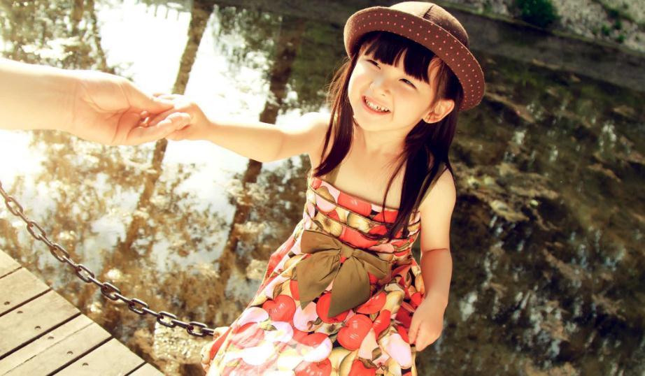 金色童年儿童摄影少女
