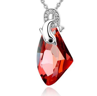 施华洛世奇水晶饰品红水晶