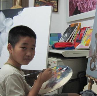 林木艺术培训画画