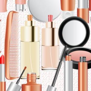 素颜美化妆品图