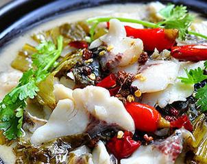 阿婆酸菜魚