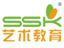 SSK少儿艺术教育品牌logo