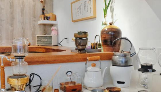 Tea funny泡茶店环境