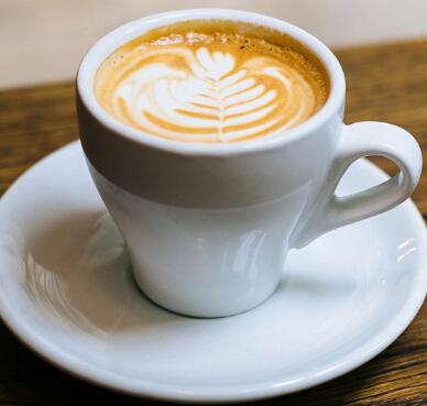 上岛咖啡店拉花