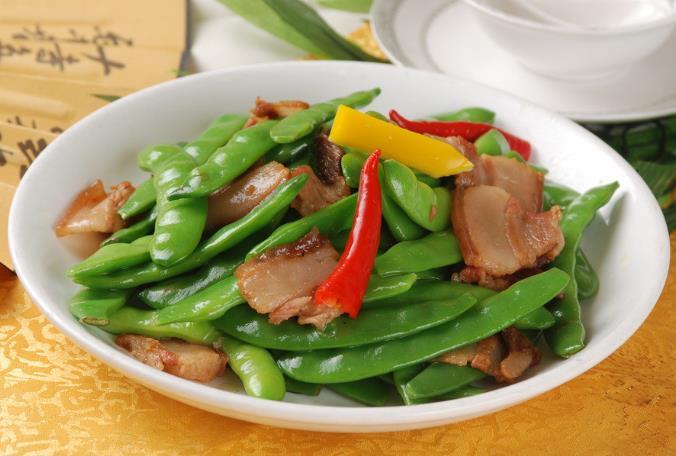 麻辣扁豆炒肉