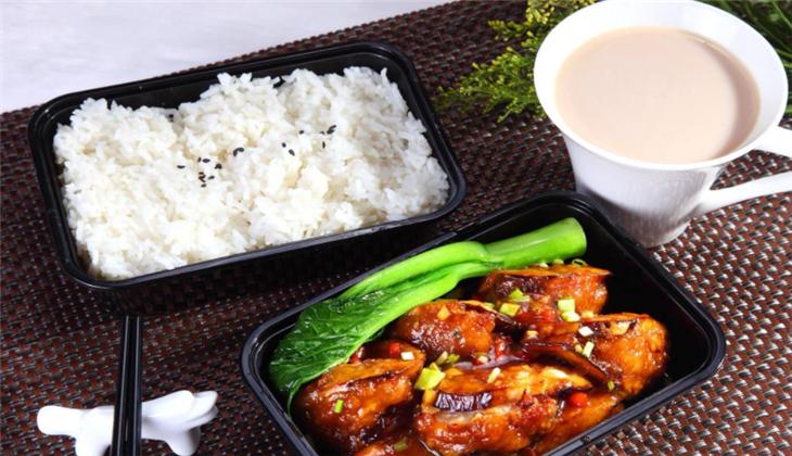 优家中式快餐鸡腿套餐