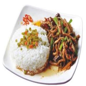 哆来咪中式快餐鱼香肉丝饭