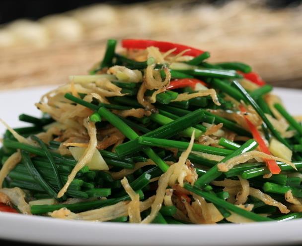 湘域豆芽炒韭菜