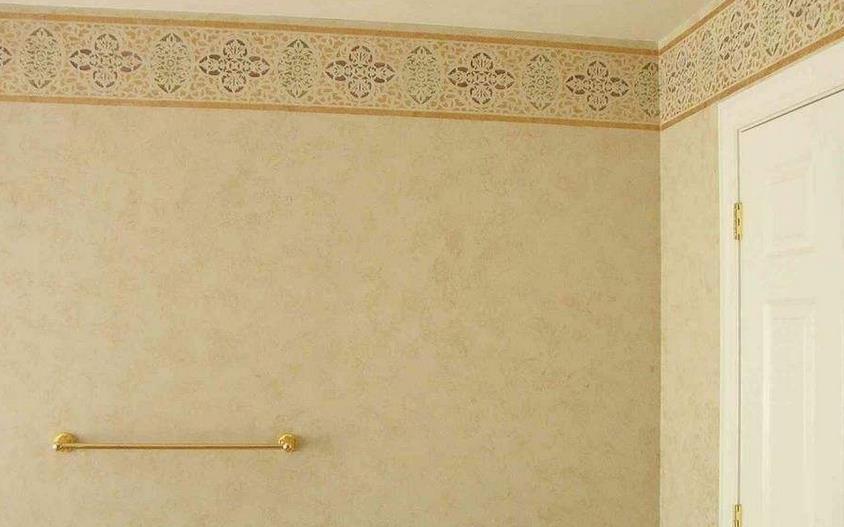 易涂得墙艺沙发墙实拍