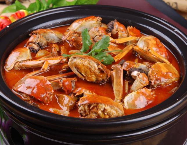 砂锅肉蟹煲