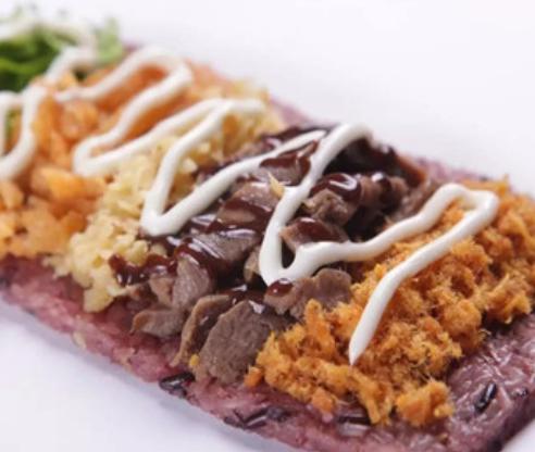 麦黍叔台湾饭团肉饼饭团