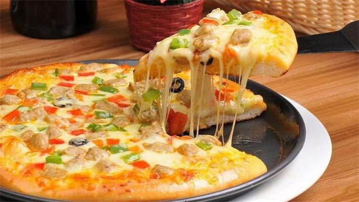 尊宝披萨鸡肉拉丝
