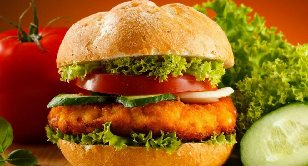 味味美汉堡高颜值