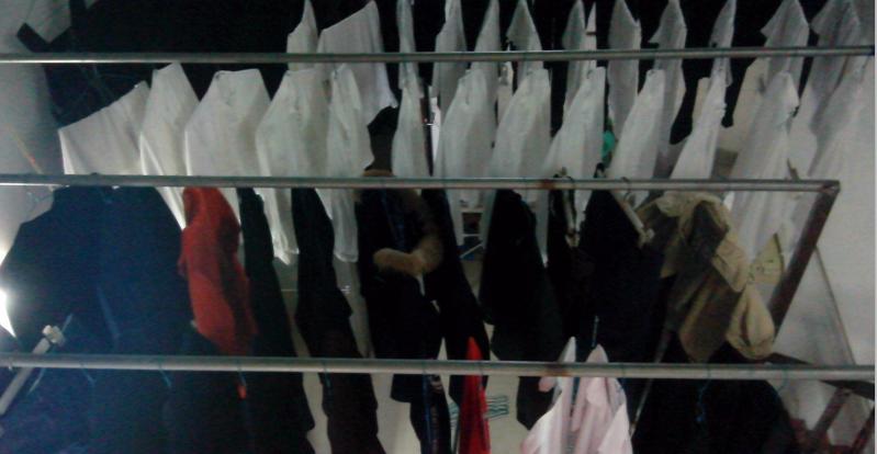 绿洁洗衣晾晒中