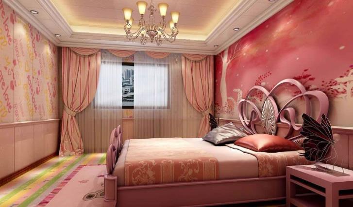 格茵软晶墙饰卧室装修