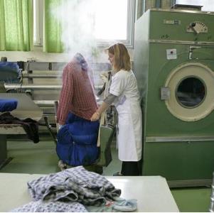 伊尔萨洗衣熨烫中