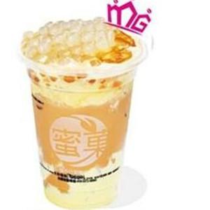 蜜巢奶茶店港式蛋糕奶茶