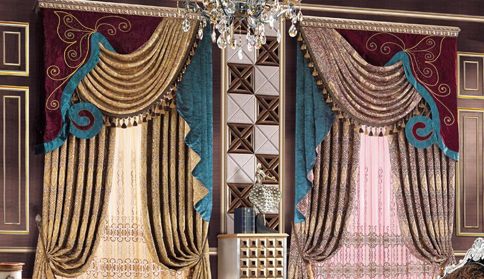 摩尔登窗帘华丽装饰