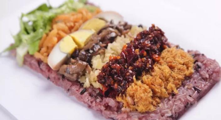 麦黍叔台湾饭团苗辣鲜香饭团