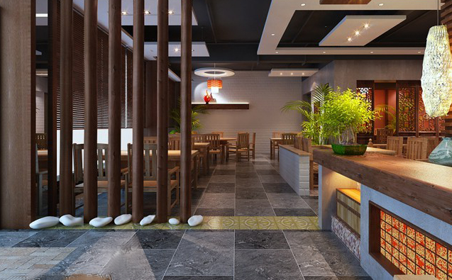莱啧香中式快餐环境