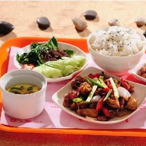 莱啧香中式快餐好吃