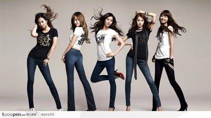 时尚造型品牌展示