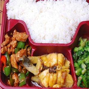 优家中式快餐盒饭