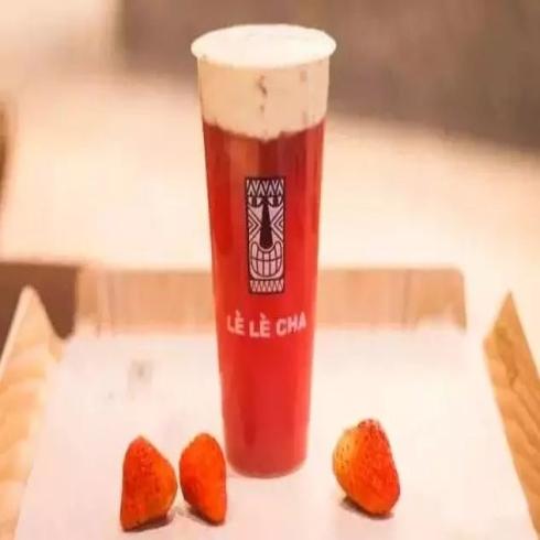 乐乐茶奶酪红莓