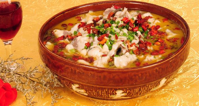 黄大酸菜鱼重辣