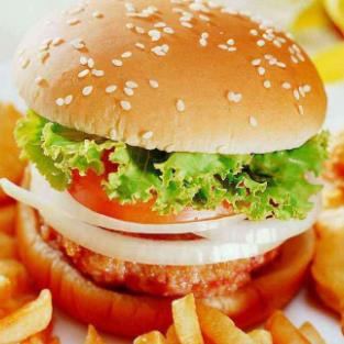 巴比汉堡美味