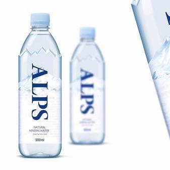 阿尔卑斯饮品两瓶