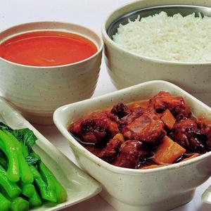 莱啧香中式快餐方便