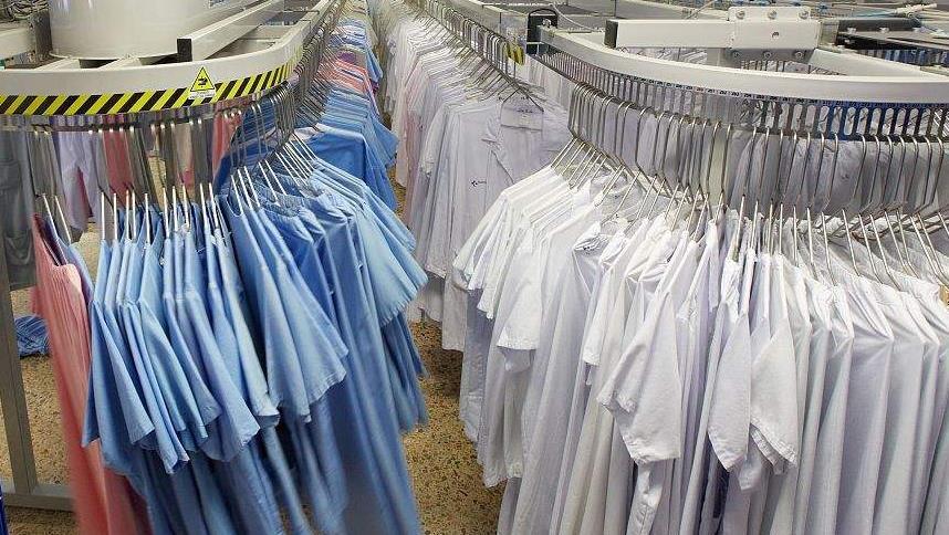 时代洗衣衣物实拍