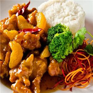哆来咪中式快餐菠萝姑姥肉