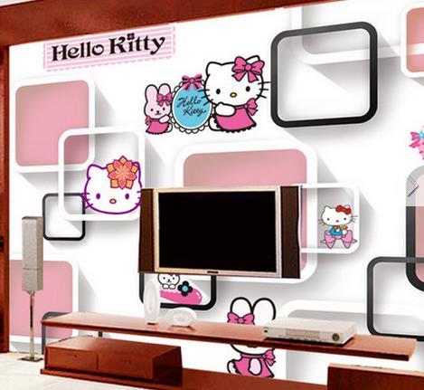 美滴整体集成墙面可爱猫咪