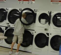 新世纪洗衣宣传海报