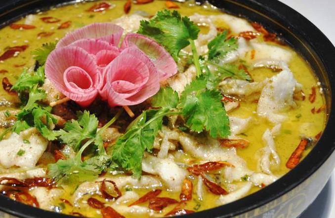 柠檬鱼酸菜鱼金汤