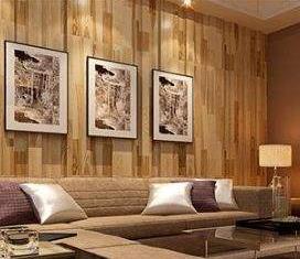 林格豪集成墙面仿实木实拍