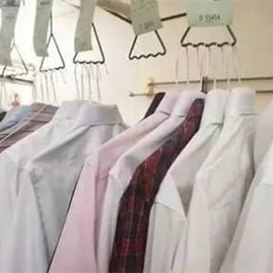 军民洗衣干洗好的衬衫