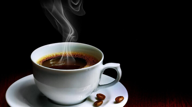 上岛咖啡店一杯咖啡