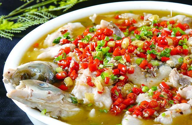袍江酸菜鱼加盟特色美食周边宝墨园图片